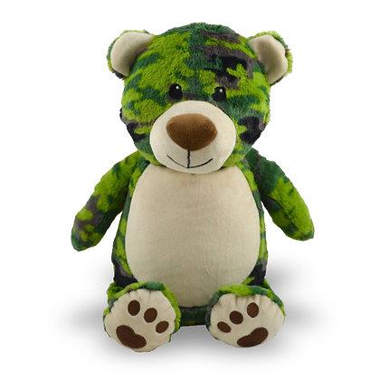 Forest Camo Bear