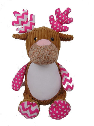 Pink Harlequin Deer
