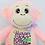 Thumbnail: Kiki Pink Monkey by Remembears