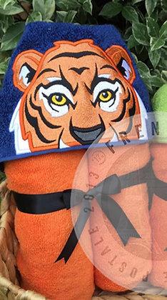 Tiger Handmade Hooded Towel