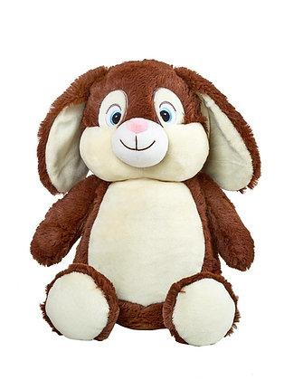 Chocolate Bunny Cubbie
