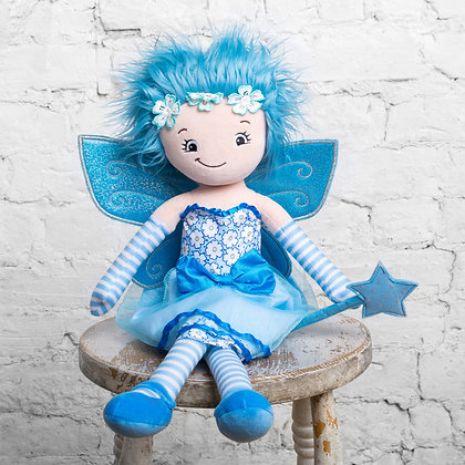Bluebell Fairy.  Raggie Doll by Cubbies
