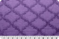 Luxe Cuddle Minky Jewel lattice