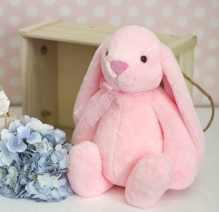 BIG Flopsy Big Ear Bunny PINK - 35cm