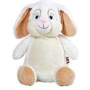 White Cubbie Bunny