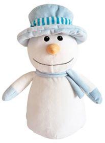 Blue Snowman Cubbie