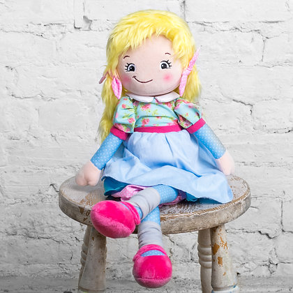 Daisy Raggie Doll by Cubbies