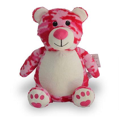Flossy Camo Bear