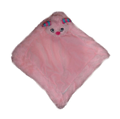 Pink Monster Blankie by Remembears