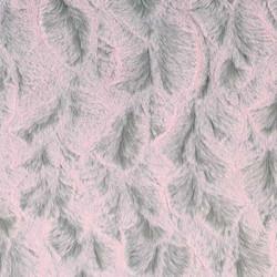 Tip Dye Pink Bella Plush Minky