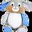 Thumbnail: Harlequin Bunny Blue
