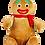 Thumbnail: Cubbie Gingerbread Man
