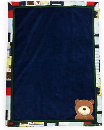Applique Bear Blanket