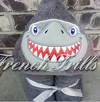 Shark Handmade Hooded Towel