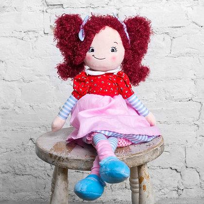 Rosey - Raggie Doll by Cubbie