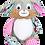 Thumbnail: Harlequin Bunny Floral