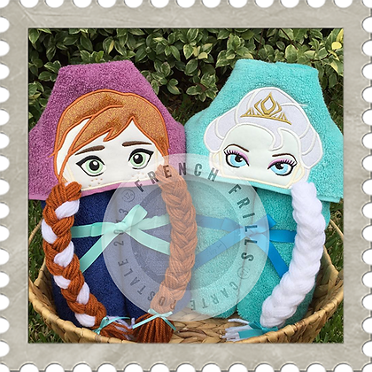 Princesses Handmade Hooded Towel