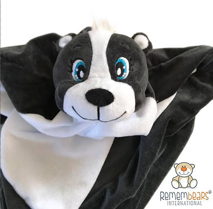 Oreo Skunk Blankie by Remembears