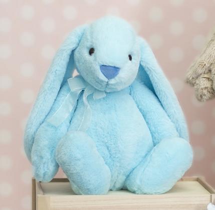 BIG Flopsy Big Ear Bunny BLUE - 35cm