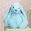 Thumbnail: BIG Flopsy Big Ear Bunny BLUE - 35cm