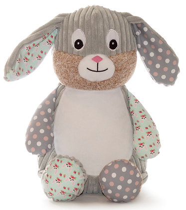 Special Edition 'Chic' Harlequin Bunny Floral