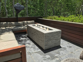 Remodeled fire pit