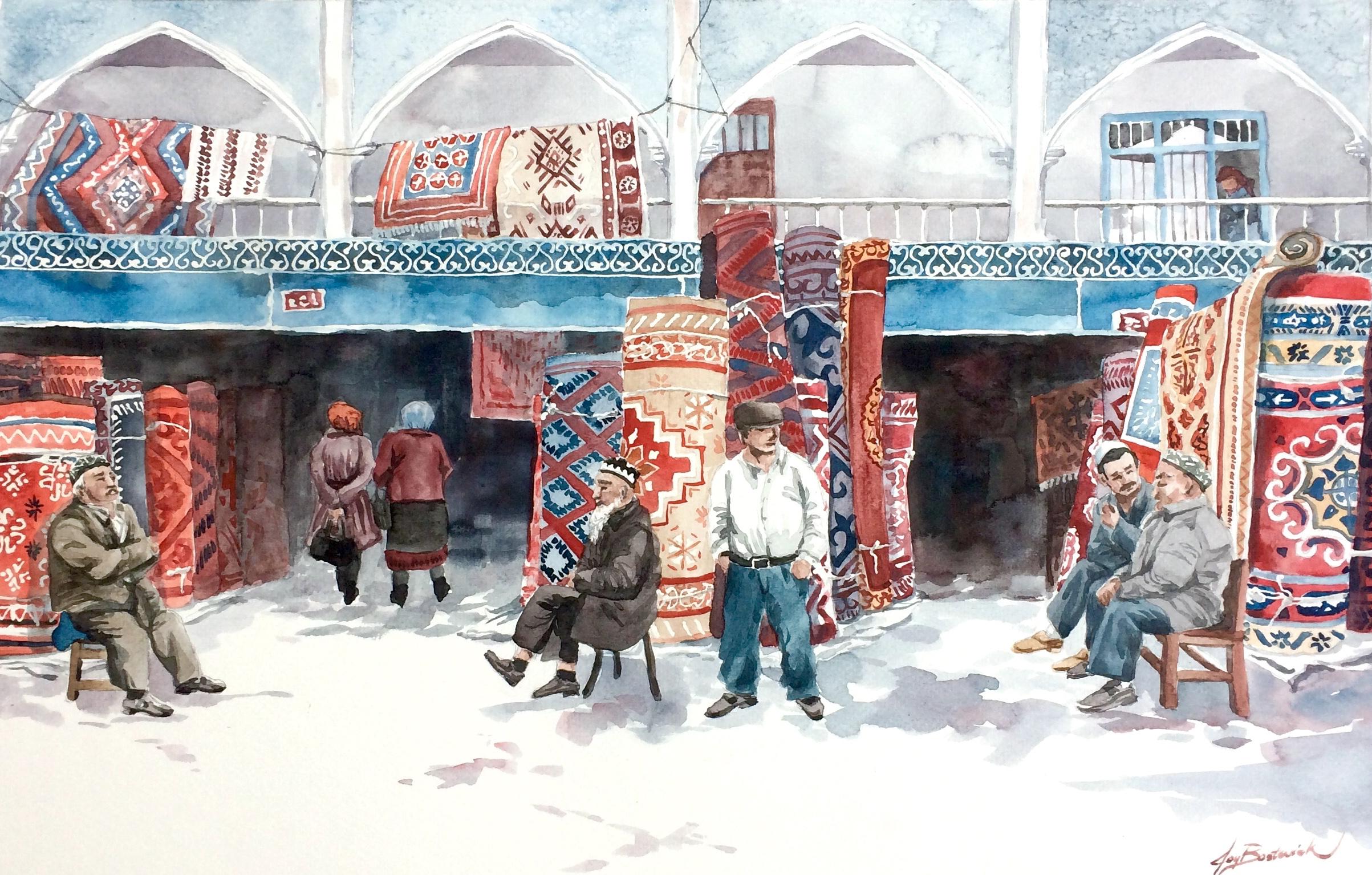 Kashgar Carpet Market