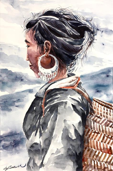 Hmong Village Woman