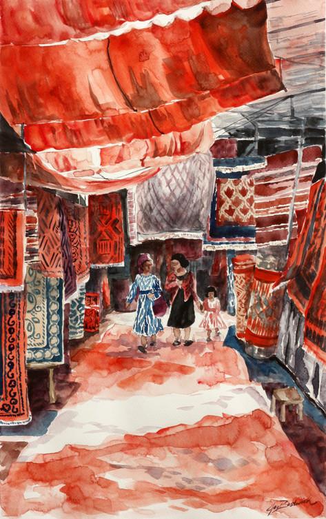 Kashgar Carpets
