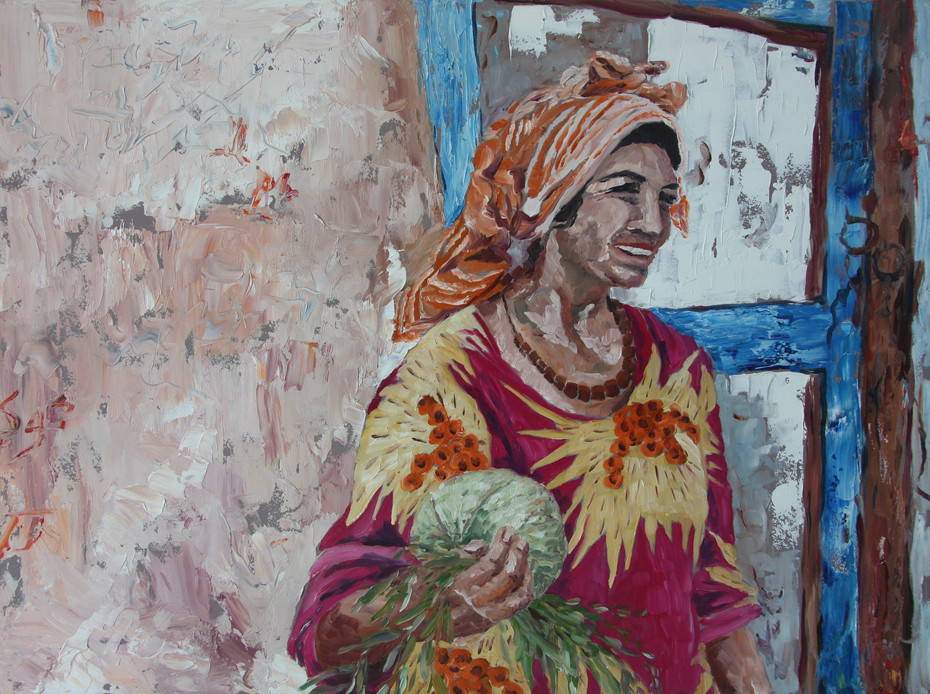 Kashgar Woman