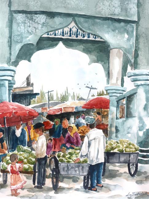 Hotan Bazaar