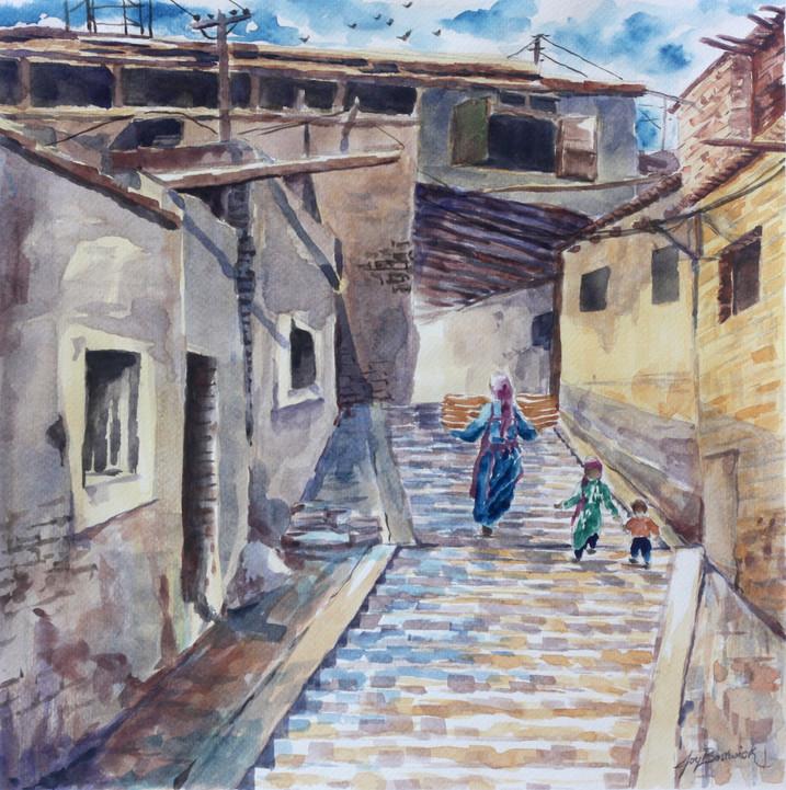 Back Entrance to Kashgar's Old City