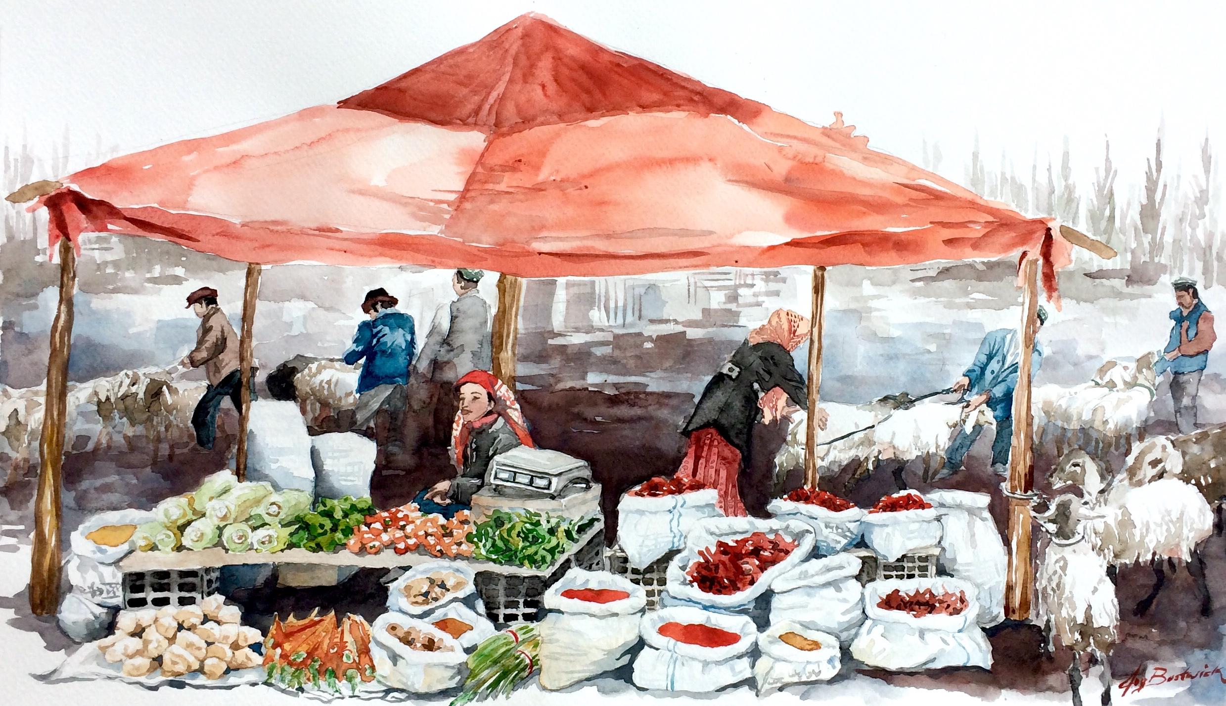 Kashgar Sunday Livestock Bazaar