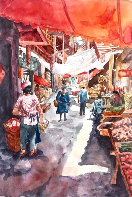 Kaili Minority Market