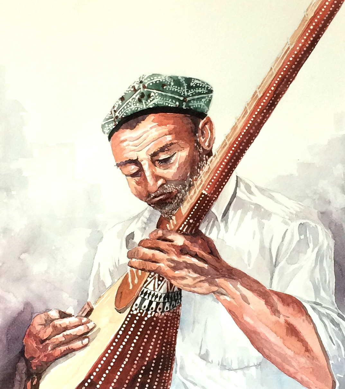 Uyghur Musician