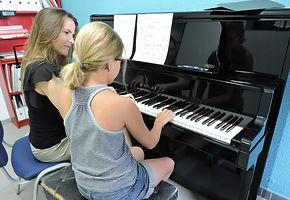 Clases de piano las rozas