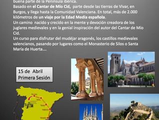 Camino del Cid - Nuevo curso de arte e historia