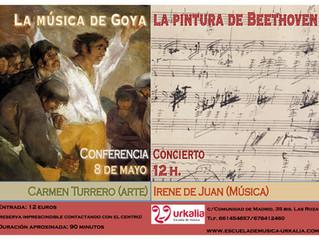 La música de Goya, la pintura de Beethoven: conferencia-concierto