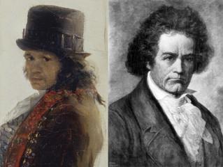 Goya, Beethoven mirando al futuro