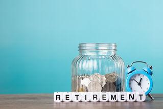 Saving money for retirement plan. Retire