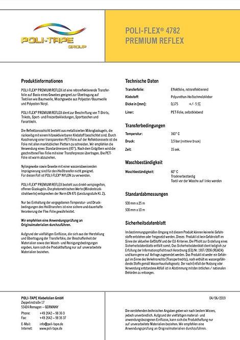 POLI-FLEX® 4782 PREMIUM REFLEX