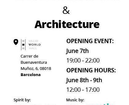 Bilderausstellung in Barcelona.