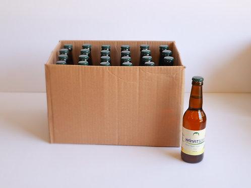 """ידר תפוחים 330 מ""""ל יבש 7% אלכוהול ארגז 24 יח' תווית באנגלית"""