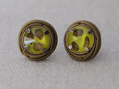 Orecchini Cristallo (Salvia)