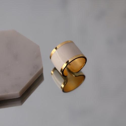 Anello Fascia (Bianco)