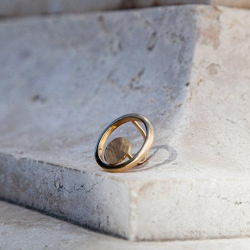 Anello cerchio dorato