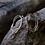 Thumbnail: Orecchini Filamenti Argento