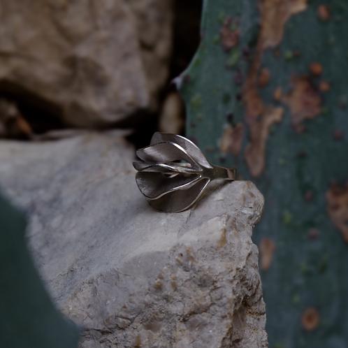 Anello Boccafiore Argento