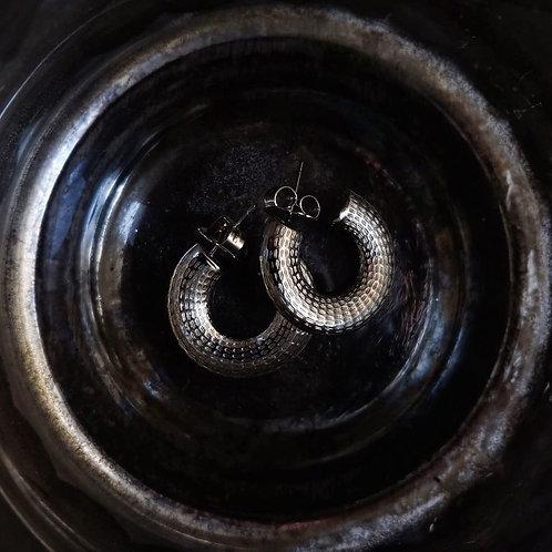 Orecchini Loop in argento