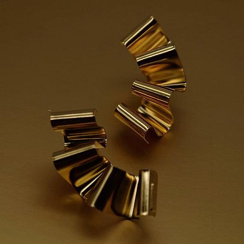 Orecchini Nastro d'oro